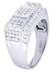 Mens Diamond Ring| 0.92 Carats| 9.52 Grams