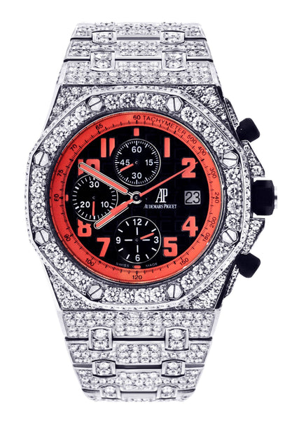 Diamond Audemars Piguet Royal Oak Offshore Volcano | Stainless Steel | 42 Mm