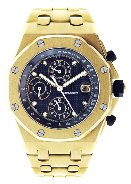 Audemars Piguet Royal Oak Offshore | Solid 18K Yellow Gold | 42 Mm