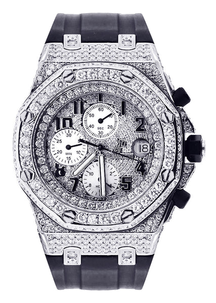 Diamond Audemars Piguet Royal Oak Offshore | Stainless Steel | 42 Mm