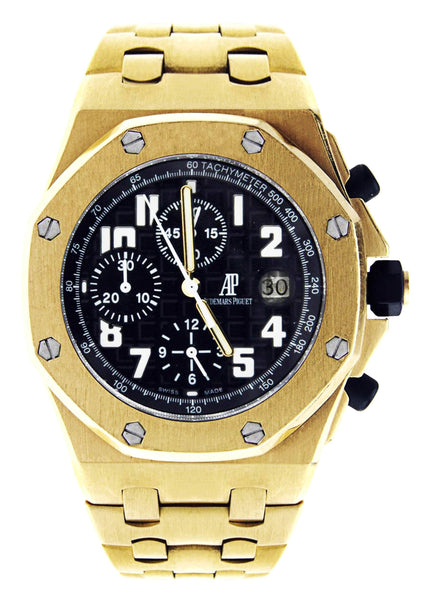 Audemars Piguet Royal Oak Offshore | 18K Yellow Gold | 42 Mm