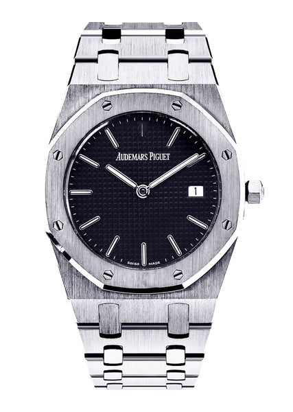 Audemars Piguet Royal Oak Watch For Women | 18K White Gold | 33 Mm