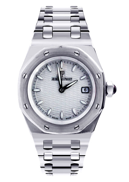 Audemars Piguet Royal Oak Watch For Women | White Gold | 33 Mm