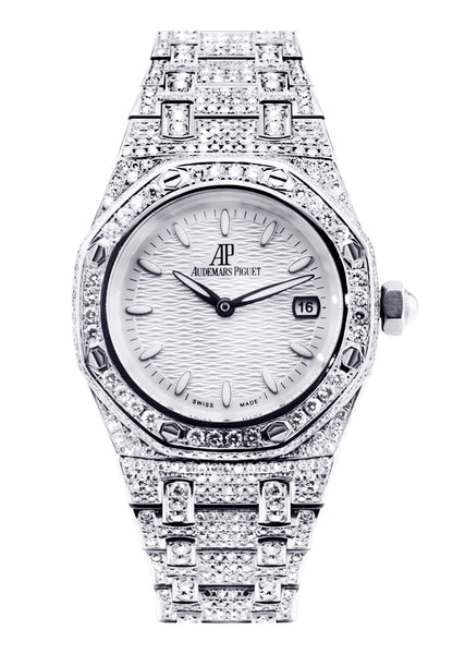 Audemars Piguet Royal Oak Watch For Women | Stainless Steel | 33 Mm