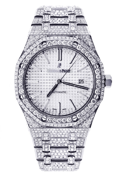 Diamond Audemars Piguet Royal Oak | Stainless Steel | 37 Mm