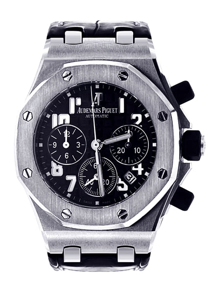 Audemars Piguet Royal Oak Offshore Watch For Women | Stainless Steel | 37 Mm