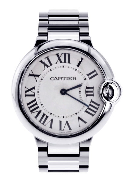 Cartier Ballon Bleu Watch For Women | Stainless Steel | 28.6 Mm