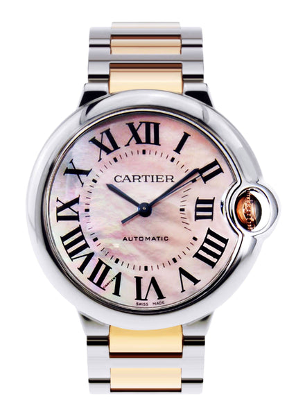 Cartier Ballon Bleu Watch For Women | Two Tone | 33 Mm