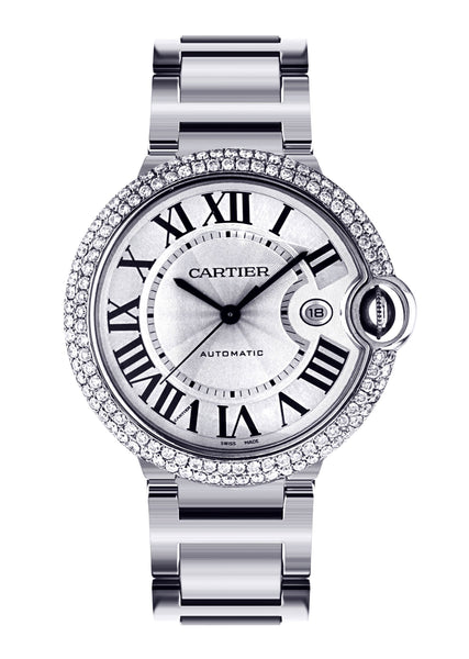 Cartier Ballon Bleu | Stainless Steel | 42 Mm