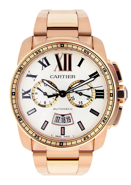 Calibre de Cartier | 18K Rose Gold | 42 Mm