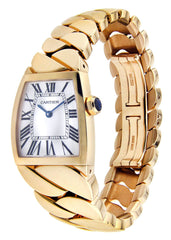 Cartier La Dona Watch For Women | 18K Rose Gold | 28 Mm