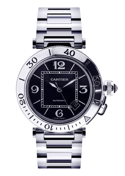 Cartier Pasha Seatimer | Stainless Steel | 40.5 Mm