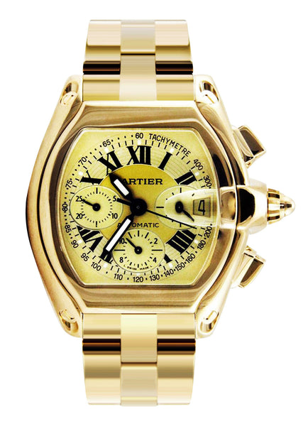 Cartier Roadster XL | Yellow Gold | 48 Mm