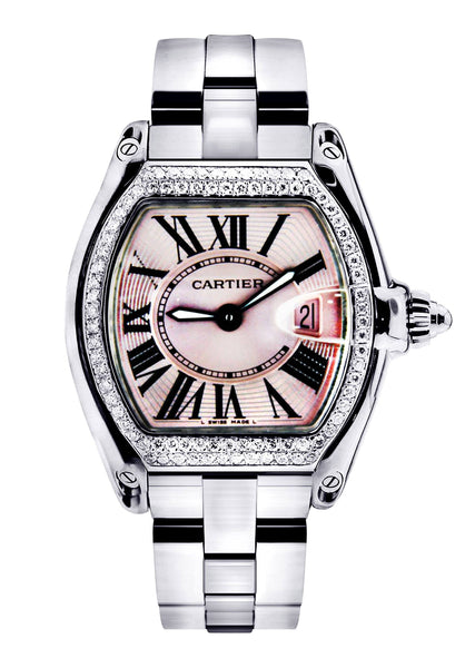 Cartier Roadster Watch For Women | Stainless Steel