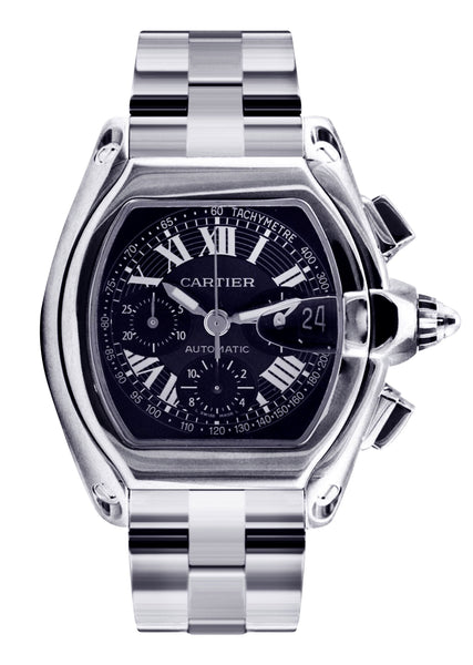 Cartier Roadster | Stainless Steel | 48 Mm