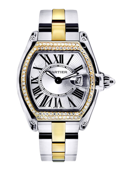 Cartier Roadster Watch For Women | Two Tone
