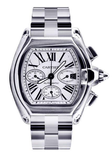 Cartier Roadster XL | Stainless Steel | 48 Mm