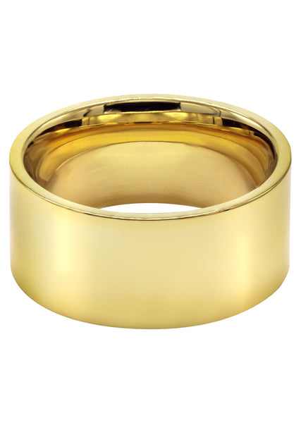 Mens Gold Plated Wedding Band | 9.2 Grams