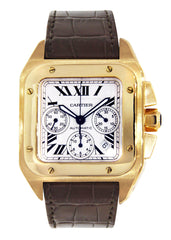 Cartier Santos 100 | 18K Yellow Gold