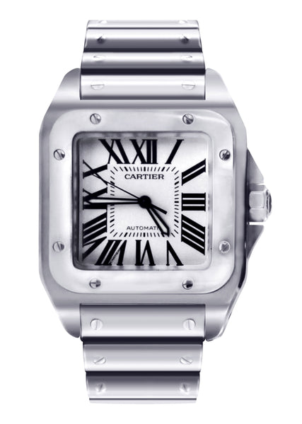 Cartier Santos 100 | Stainless Steel | 38 Mm