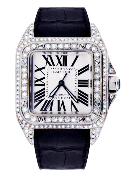 Cartier Santos 100 | Stainless Steel