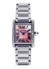 Cartier Tank Francaise Watch For Women | Stainless Steel | 20 Mm