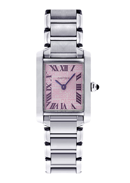 Cartier Tank Francaise Watch For Women | Stainless Steel