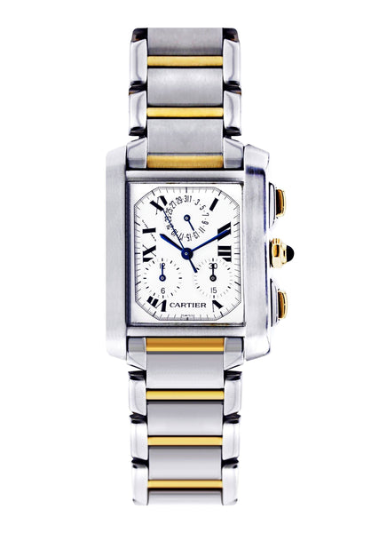 Cartier Tank Francaise Watch For Women | Two Tone | 29 Mm