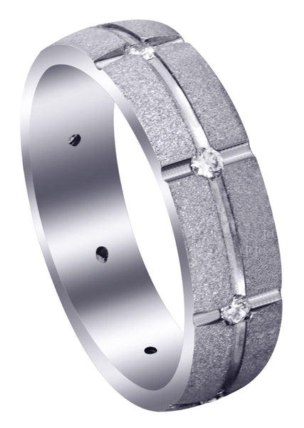 Classic Diamond Mens Wedding Band | 0.4 Carats (Felix)