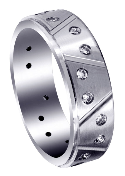 Classic Diamond Mens Wedding Band | 0.4 Carats (Conner)