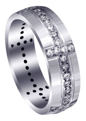 Classic Diamond Mens Wedding Band | 0.83 Carats (Judah)
