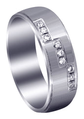 Classic Diamond Mens Wedding Band | 0.135 Carats (Dawson)