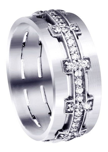 Diamond Mens Wedding Band | 0.7 Carats (Milan)