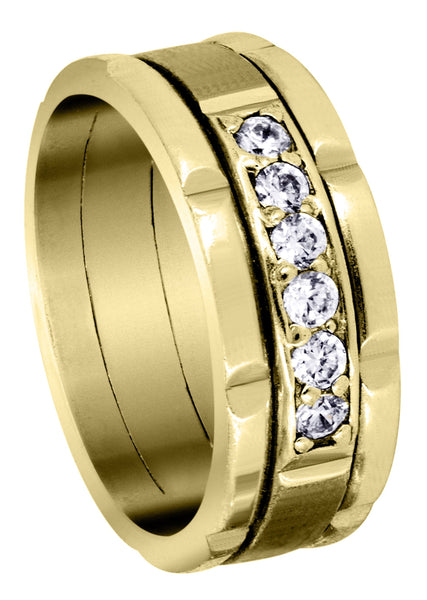 Yellow Gold Diamond Mens Engagement Ring | 0.36 Carats | 0.36 Carats (Chandler)
