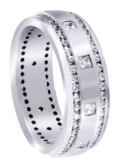Diamond Mens Wedding Band | 1.04 Carats | Satin Finish (Armando) Wedding Band FROST NYC