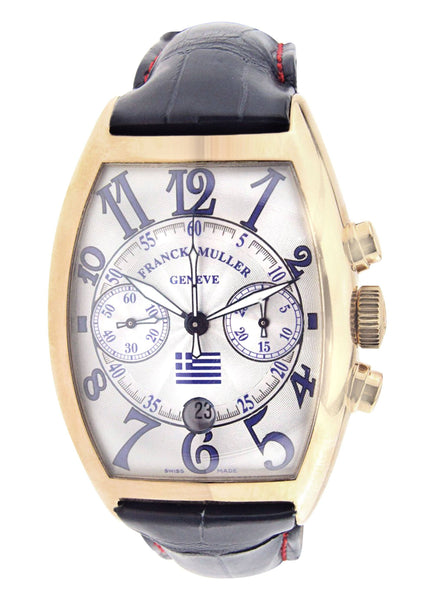 Franck Muller Pride of Greece | Yellow Gold | 40 Mm