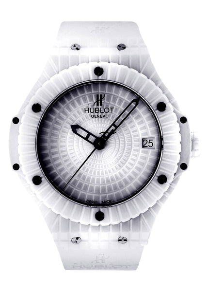 Hublot Big Bang Caviar | White Ceramic | 41 Mm