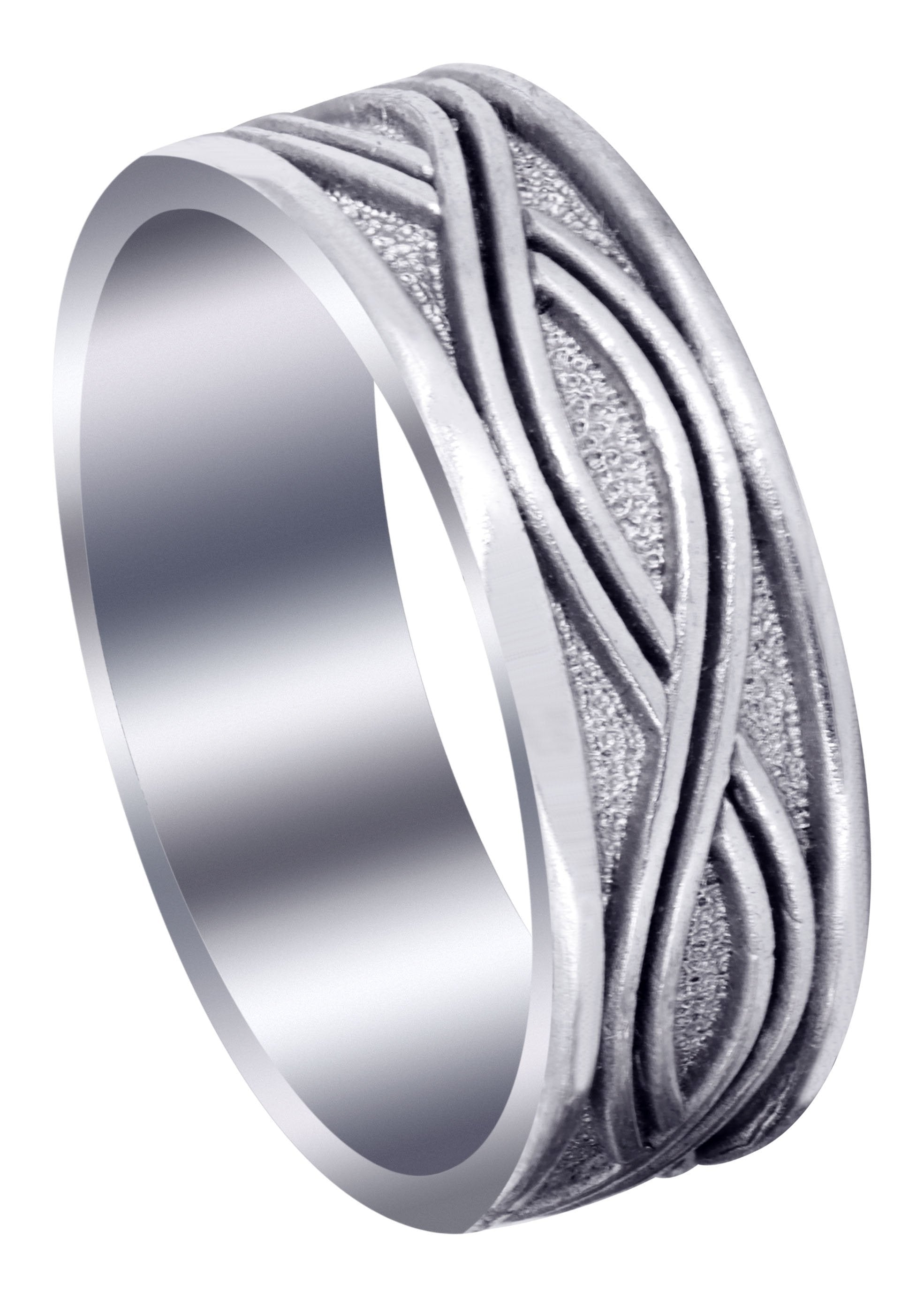 It is just a picture of Celtic Mens Wedding Band High Polish Finish (Kyle) – FrostNYC