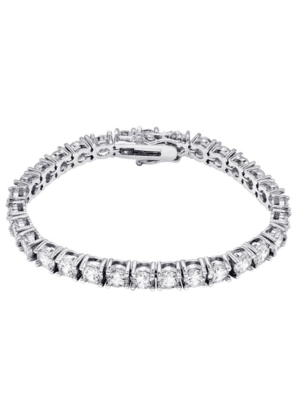 Mens Diamond Tennis Bracelet