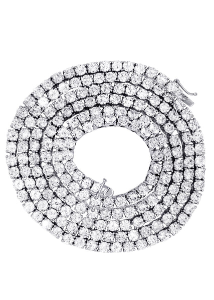Mens Diamond Tennis Chain