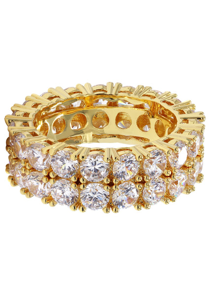 Gold Plated Eternity Ring | 10.5 Grams