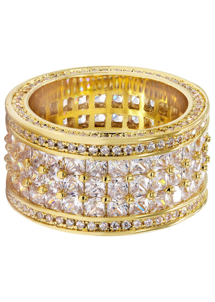 Gold Plated Eternity Ring | 15.5 Grams