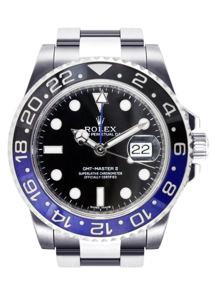 "Rolex Gmt-Master 2 ""Batman"" 