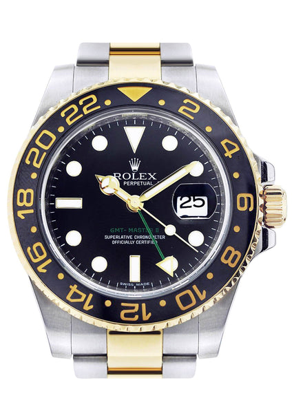 Rolex Gmt Master 2  | 18K Yellow Gold | 40 Mm