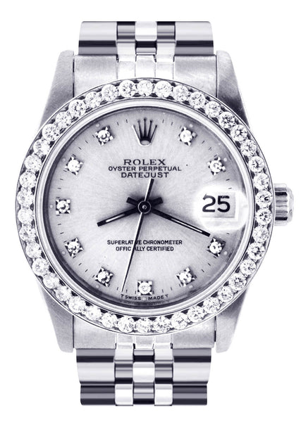 Rolex Datejust Watch For Women | Stainless Steel | 31 Mm