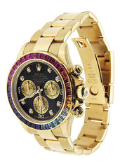 Rolex Daytona | Colored Sapphire | 40 Mm Mens Watch FrostNYC