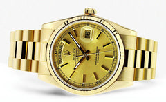 Rolex Day-Date | 18K Yellow Gold | 36 Mm Mens Watch FrostNYC