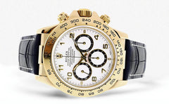 Rolex Daytona | 18K Yellow Gold | 40 Mm Mens Watch FrostNYC