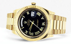 Rolex Day-Date 2 | 18K Yellow Gold | 41 Mm Mens Watch FrostNYC