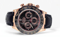 Rolex Daytona | 18K Rose Gold | 40 Mm Mens Watch FrostNYC